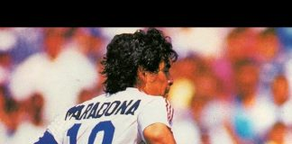 Diego Maradona - First Game After World Cup 1986