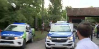 Vehicle carrying Diego Maradona's body leaves his house (local police) | AFP