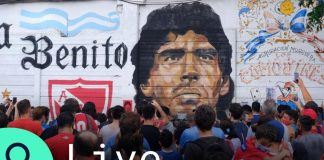 LIVE: Diego Maradona Fans Bid Farewell to Argentina Football Great in Buenos Aires