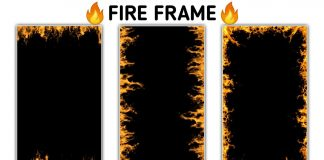 New Fire Frame For Video Editing ll AD EDITOR