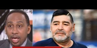 """[BREAKING NEWS] """"The hand of God"""" Diego Maradona departure at age 60 - Stephen A. """"SHOCKED"""""""