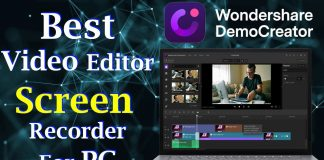 Best Video Editor And Screen Recorder for PC | Wondershare DemoCreator | Any Information